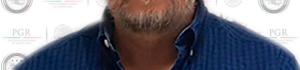 Barba, camisa azul y cabello teñido: Así detuvieron a Luis Rabbé