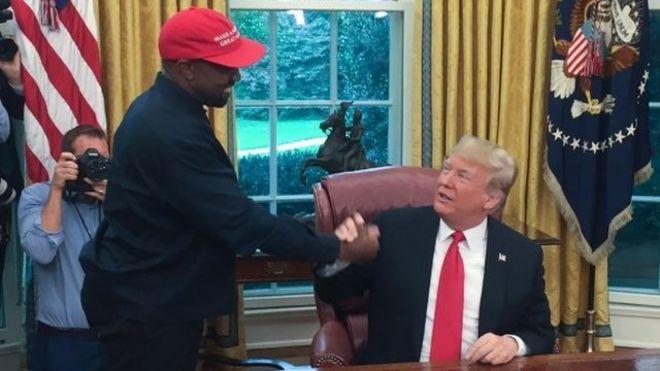 Kanye West: el sorprendente monólogo del rapero estadounidense en la Casa Blanca que dejó a Donald Trump sin palabras