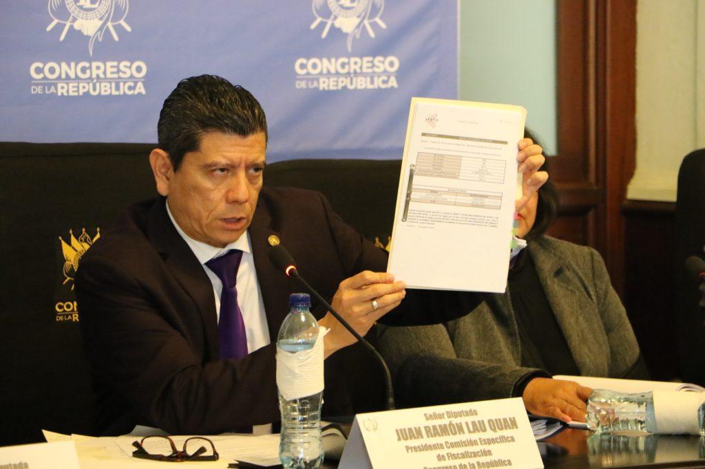 Diputado Juan Ramón Lau. Foto: Vinicio Guarcas