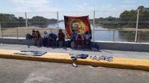migrantes en puente
