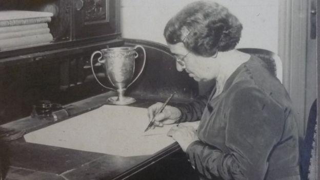 La actividad de Compte y Riqué no se detuvo en la niñez, sino que fue una defensora de los derechos de la mujer. (Foto Guatevisión: Elizabeth Ivaldi)