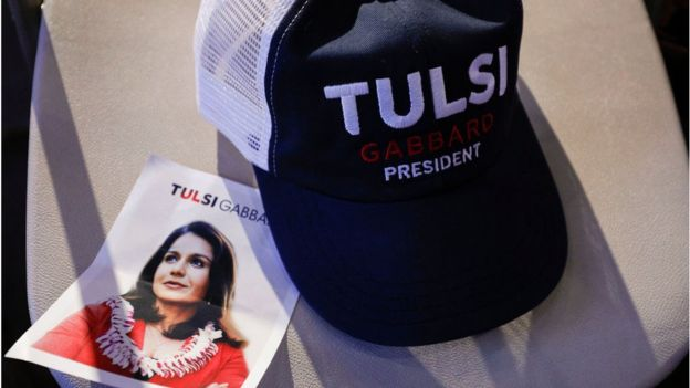 Ni Tulsi Gabbard, ni Elizabeth Warren serán candidatas por el partido demócrata para la presidencia de Estados Unidos. (Foto Guatevisión: Getty Images)