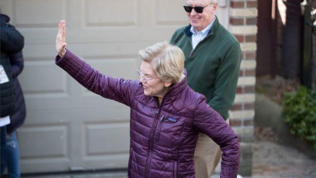 Elizabeth Warren se retiró esta semana de la carrera para conseguir la candidatuta demócrata para competir en la elecciones presidenciales de Estados Unidos. (Foto Guatevisión: Getty Images)