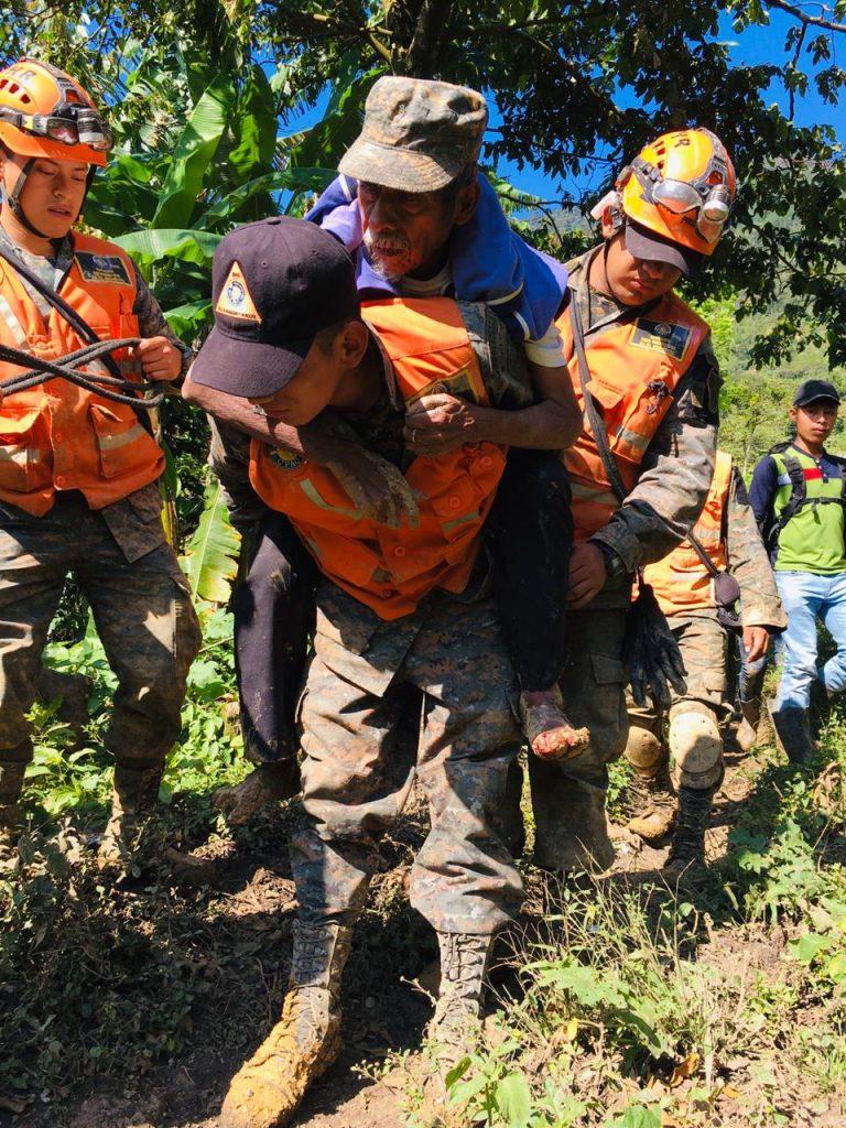 Ejército de Guatemala rescate aldea Quejá