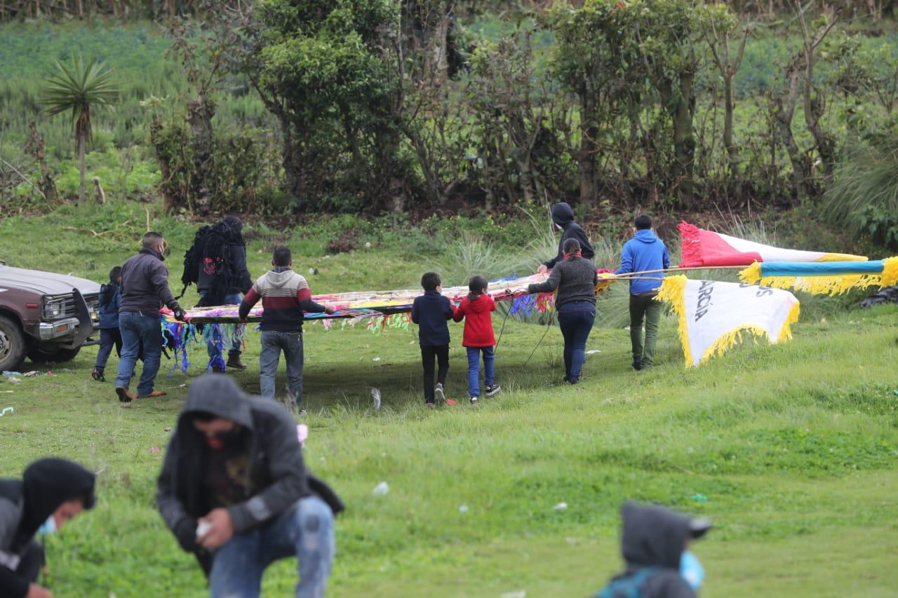 Barriletes de Santiago Sacatepéquez